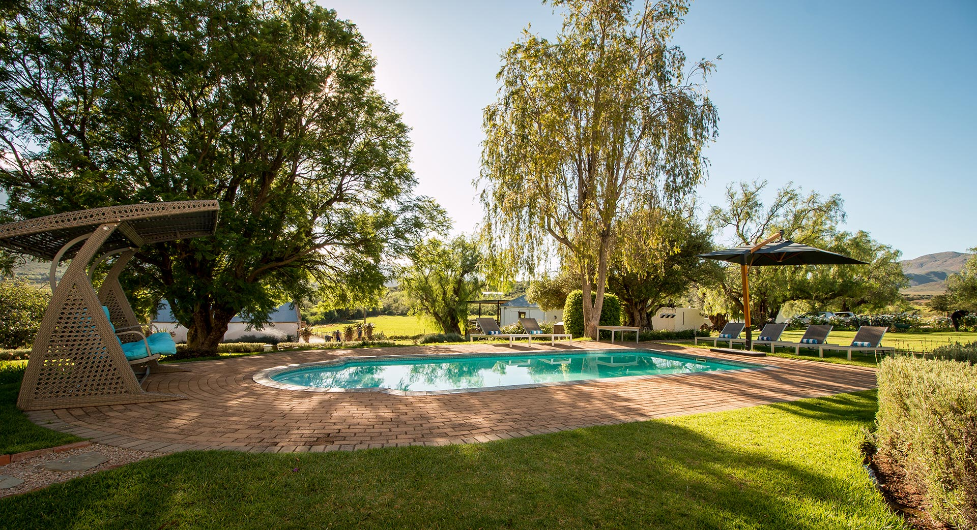 Swartberg Country Manor Pool