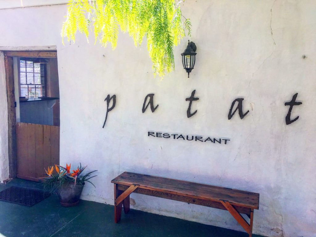 Patat Restaurant at Swartberg Country Manor Oudshoorn