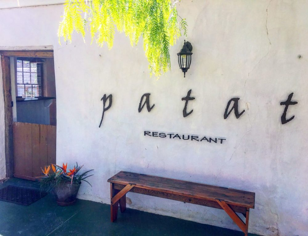 The story of how we named our restaurant: Patat