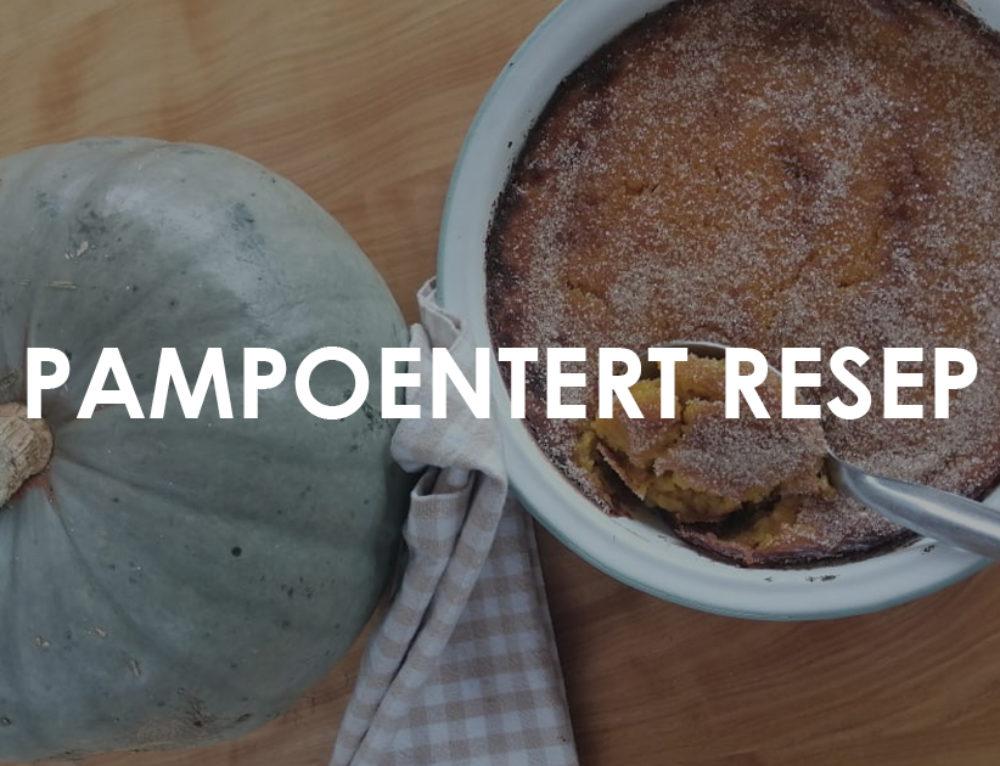 'Pampoentert' Resep