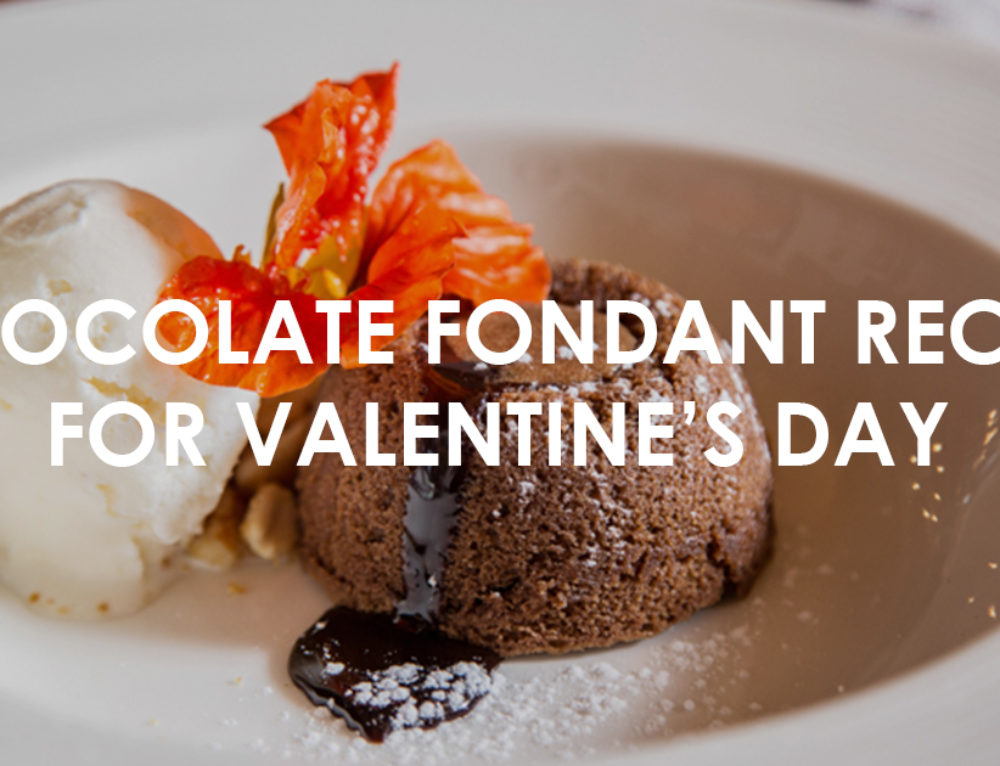 Easy Chocolate Fondant Recipe for Valentine's Day